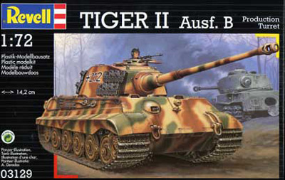 WWII German Tiger II Ausf. B