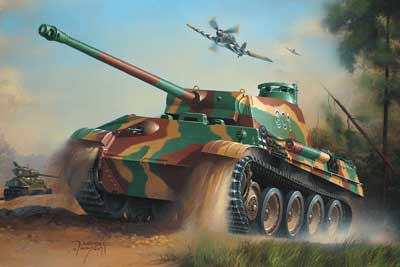 WWII German PzKpfw V Panther Ausf. G (SdKfz 171) Battle Tank
