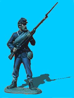 Union Infantry Standing, Rifle at Ready