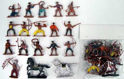 Cowboys & Indians Bagged Set #1