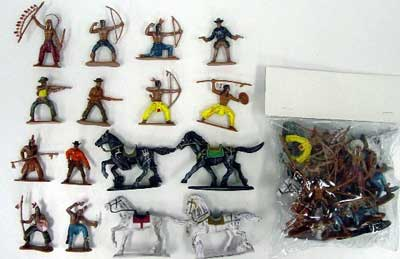 Cowboys & Indians Bagged Set #2