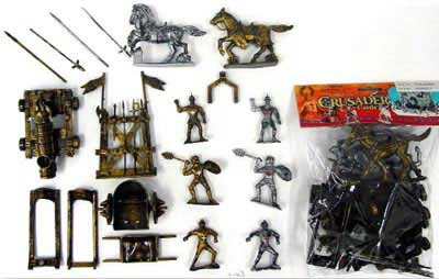Crusaders Playset Bagged Set