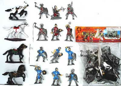 Crusader Knights & Horses Bagged Set