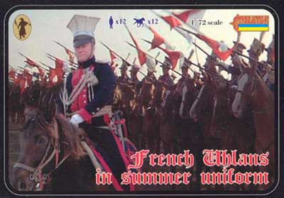 Strelets R -French Uhlans in Summer Uniforms