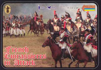 Strelets R -French Cuirassiers in Attack - Reissue