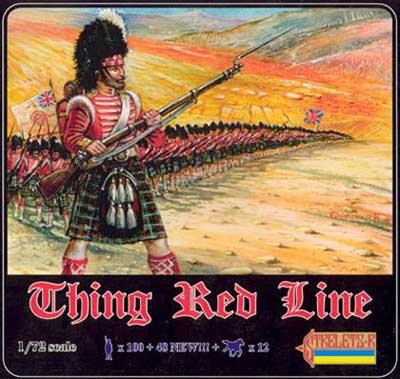 Strelets Big Box- Thin Red Line