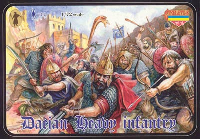 Strelets Mini -Dacian Heavy Infantry