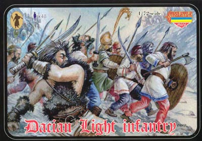 Strelets Mini -Dacian Light Infantry