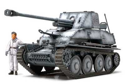 WWII German Tank Destroyer Marder III