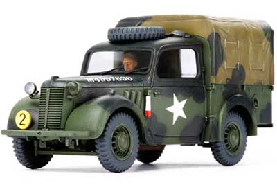 WWII British Small Staff Car 10HP