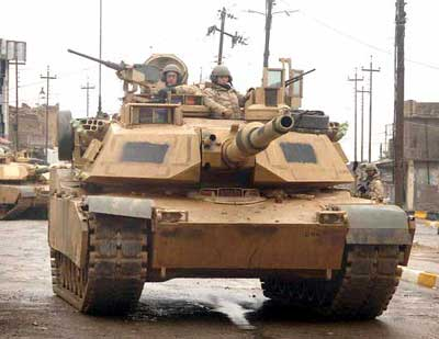 M1A1/A2 Abrams Tank (5 in 1 Kit)
