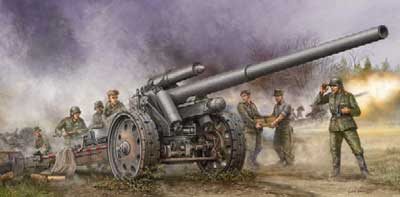 German 10cm K18 Field Howitzer