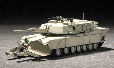 US M1A1 Abrams Main Battle Tank with Mine Clearing Equipment