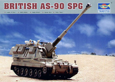 British AS90 Self-Propelled Howitzer