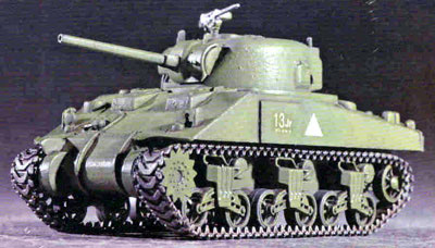 M4 Sherman Tank (Mid Production), US Army Markings