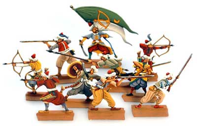 Renaissance: Turkish Militia (10 pcs.)
