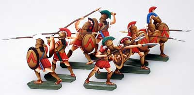 Ancient Greeks & Persians: Spartans (9 pcs.)
