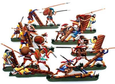 Ancient Greeks & Persians: Greeks/Persians in Combat( 10 pcs.)