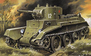 BT-7 Soviet Light Tank 1935