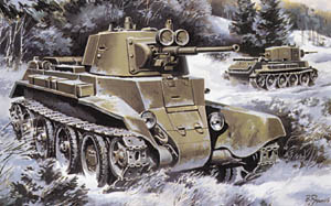 BT-7 Soviet Light Tank 1937
