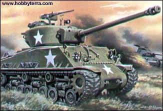Sherman M4 (105) HVSS Medium Tank
