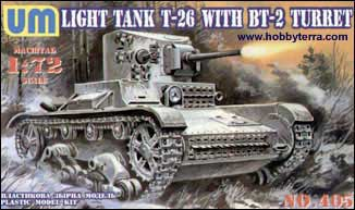 T26 Soviet Light Tank with BT2 Turret