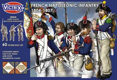 French Napoleonic Infantry 1804-07