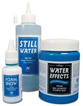 Vallejo Water Effects- Mediterranean Blue Water 200ml.