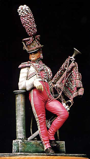 Polish Lancer Trumpeter, 1st Regiment 1810-14