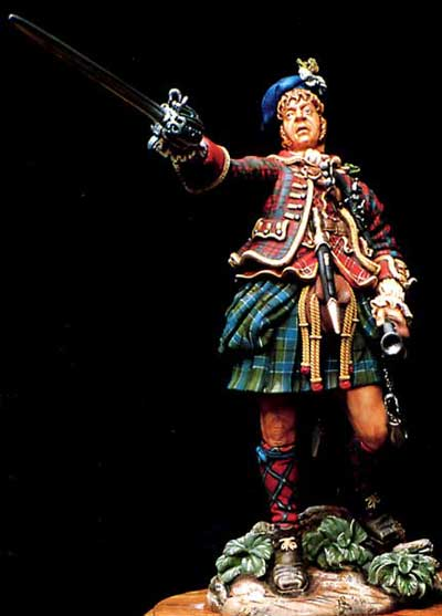 Highlander Officer, Culloden 1746
