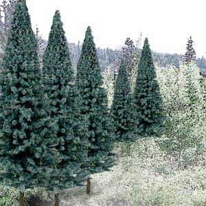 Trees - Ready Made Value Pack � Blue Spruce #1 (2