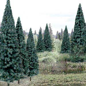 Trees - Ready Made Value Pack � Blue Spruce #2 (4