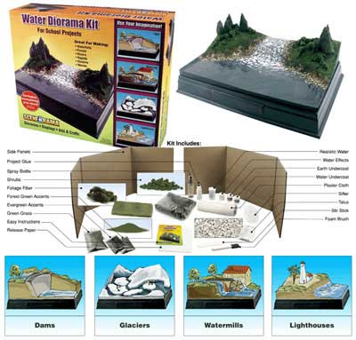 Scene-A-Rama - Water Diorama Kit
