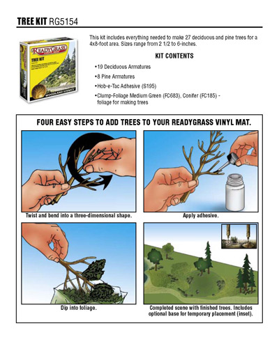 Ready Grass - Tree Kit