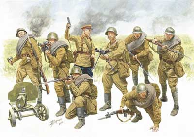 Red Army Infantry 1940-49