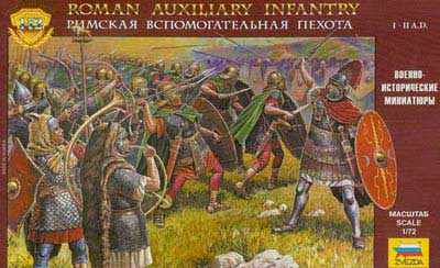 Ancient Roman Auxiliary Infantry