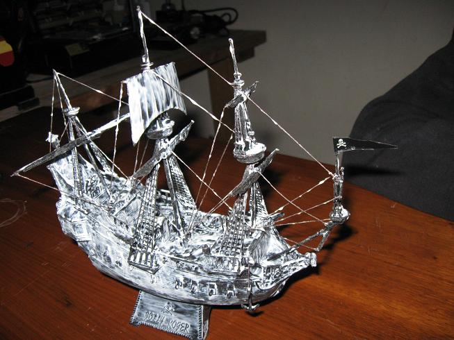 Michigan Toy Soldier Company Revell Pirate Ghost Ship