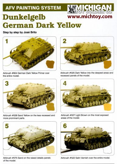 Military Paint Color Chart Choosing A Color Palette Peter Jackson