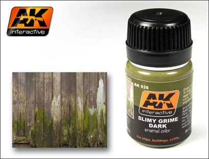 Streaking Effects-  Slimy Grime Dark