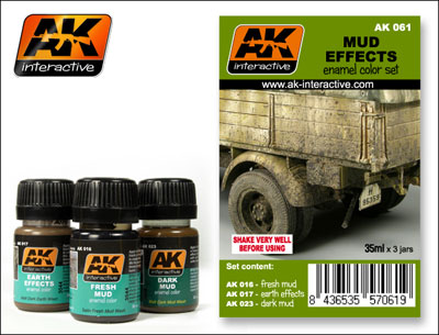 Nature Effects Weathering Set- Mud Effects