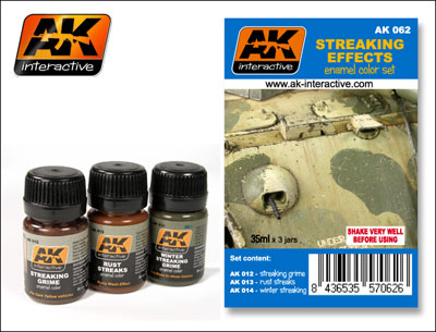 Streaking Effects Weathering Set- Streaking Effects