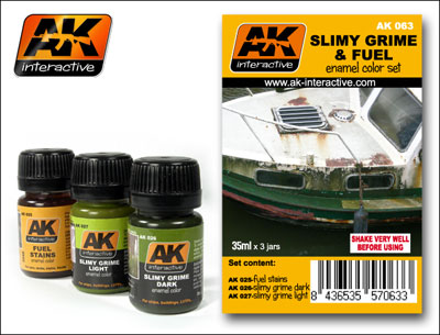 Streaking Effects Weathering Set- Slimy Grime and Fuel