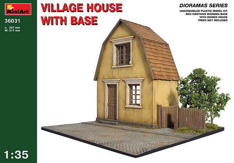 Village House Diorama