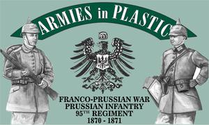 Franco-Prussian War Prussian Inf. 95th Regt. 1870 - 1871