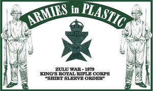 Zulu War 1879 Kings Royal Rifle Corps, Shirt Sleeve Order