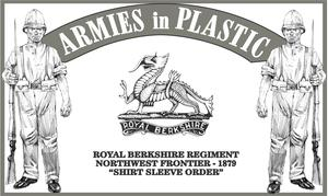 Zulu War 1879 Royal Berkshire Regt., Northwest Frontier - 1879, Shirt Sleeve Order