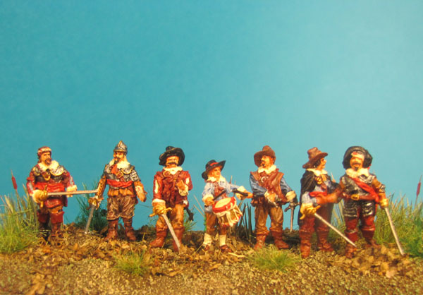 Rocroi 1643 - Command Group