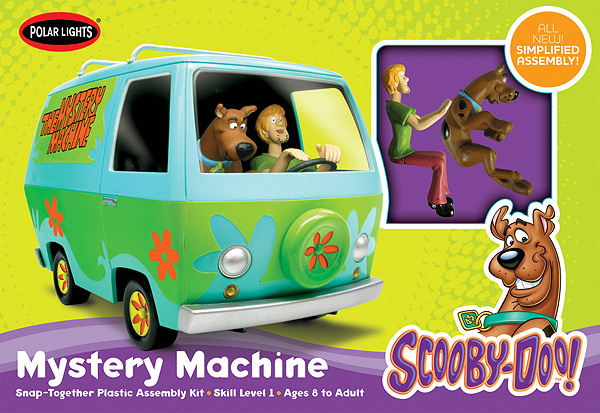 Scooby  Doo Mystery Machine w/Shaggy & Scooby