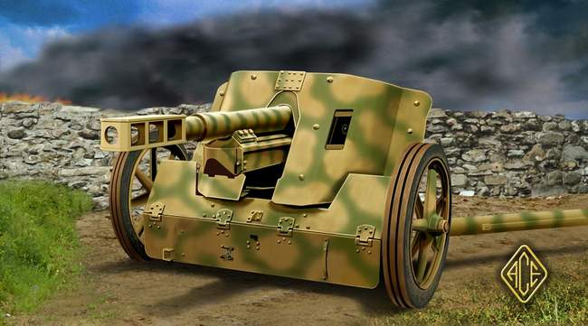 German 50 Mm Anti Tank Gun: Michigan Toy Soldier Company : Ace Models