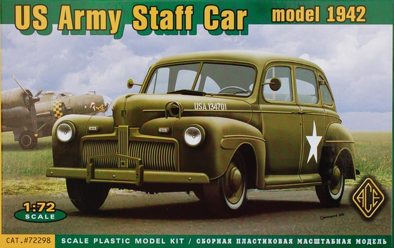 WWII US Army Staff Car